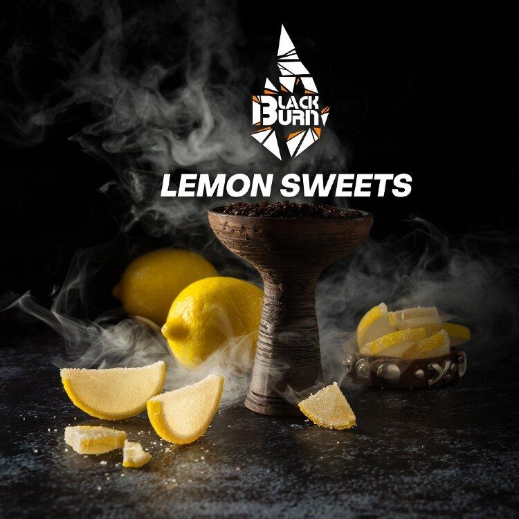 BURN Black Lemon Sweets 100gr