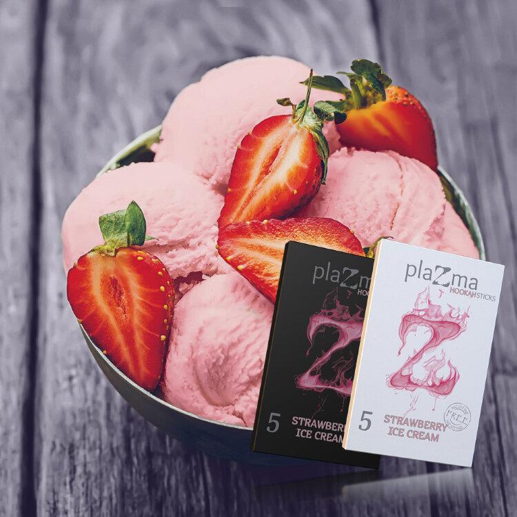 Plazma Black Strawberry Ice Cream 42gr